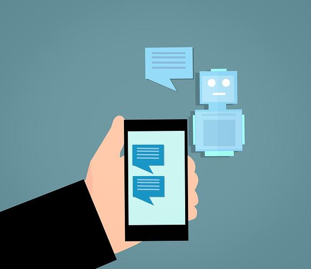 a representation of chatbots, popular among web development trends